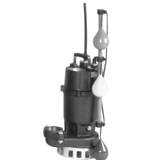 エバラ/荏原【65DNJ61.5】汚水雑排水用水中ポンプ DNJ型 自動交互内蔵型 三相 60Hz