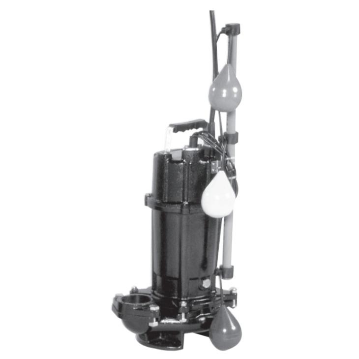 エバラ/荏原【50DVSJ6.75A】雑排水用セミボルテックス水中ポンプ DVSJ型 自動交互内蔵型 三相 60Hz