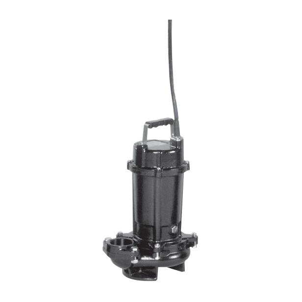 エバラ/荏原【50DVS55.5】雑排水用セミボルテックス水中ポンプ DVS型 非自動型 三相 50Hz