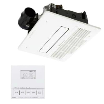 ノーリツ 浴室暖房乾燥機【BDV-4104AUKNC-BL】1室自動乾燥機能付タイプ