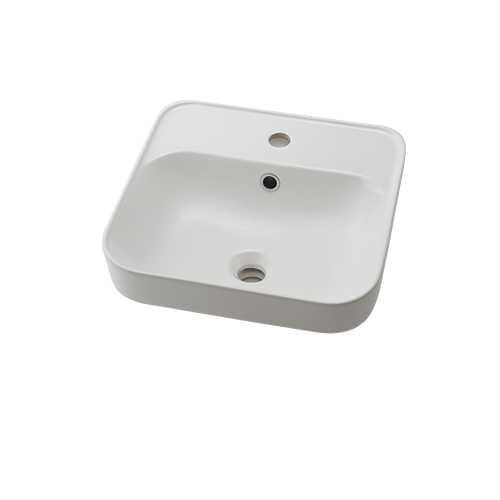 カクダイ【#CL-8774AC】角型洗面器