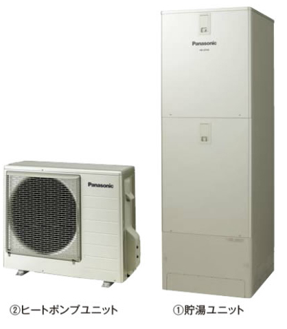 ###パナソニック エコキュート【HE-J46JXS】(本体のみ) Jシリーズ 酸素入浴機能付 フルオート 屋外設置用 460L