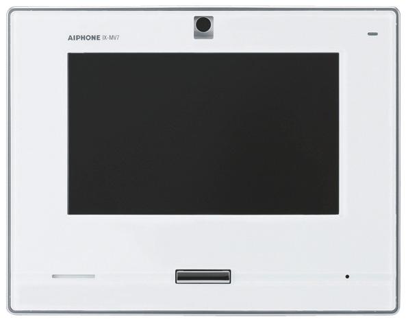 ###βアイホン【IX-MV7-W】7型モニター付インターホン端末 電話機なし 白 IPネットワーク対応インターホンIXシステム 受注生産約2ヶ月