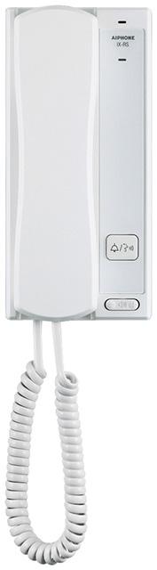 ###βアイホン【IX-RS-W】受話器付端末 白 IPネットワーク対応インターホンIXシステム 受注生産約2ヶ月