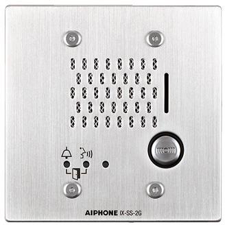 ###βアイホン【IX-SS-2G】ドアホン端末 壁埋込型 IPネットワーク対応インターホンIXシステム 受注生産約2ヶ月