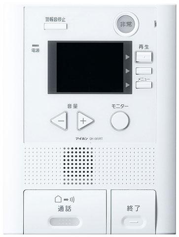 ###βアイホン テレビドアホン【QH-6KVRT】モニター付住居情報盤 セキュリティ QH録画2・2 受注生産約1ヶ月