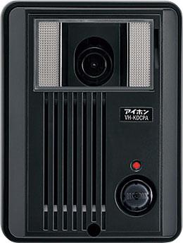 ###βアイホン テレビドアホン【VH-KDCPA-B】カメラ付玄関子機 セキュリティ QH録画2・2 受注生産約1ヶ月