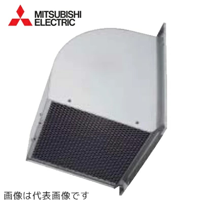 ###三菱換気扇部材【W-80KTDAC】有圧換気扇用ウェザーカバー80cm防鳥網付防火ダンパー鋼板製