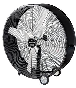 ###ωナカトミ【BF-125V】125cmビッグファン 全閉式大型工場扇