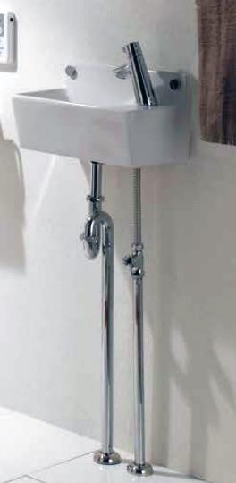 Ю####ジャニス/Janis【LS353RPF】トイレ用手洗器 コンパクトライン 水栓金具セット 壁排水 壁給水