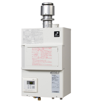★★PG H1600E 1H ###♪パーパス ガス給湯器【PG-H1600E-1H】排気フード対応形 屋内壁掛形 16号 エコジョーズ FE式 業務用給湯器