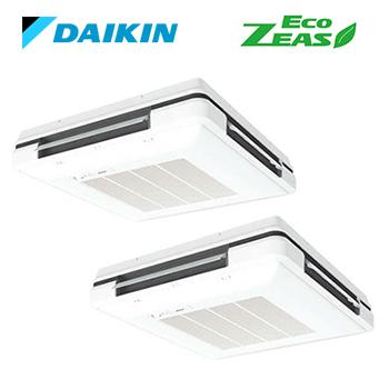 ダイキン 業務用エアコン SZRU140BFD分岐管セットフレッシュホワイト 天吊自在形 ツイン同時 5馬力 ワイヤード 三相200V Eco ZEASOkXw08nP