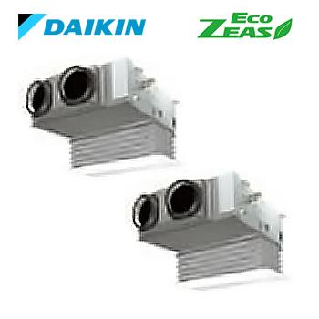###ダイキン 業務用エアコン【SZRB112BFD】[分岐管セット] フレッシュホワイト 天井埋込カセット形 ツイン同時 4馬力 ワイヤード 三相200V Eco ZEAS