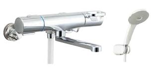 BF WM145TNSJH INAX LIXIL 贈与 5%OFF BF-WM145TNSJH 吐水口長さ170mm 寒冷地 エコアクアスプレーシャワー クロマーレS サーモスタット付シャワーバス水栓