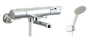 BF WM147TNSJH INAX LIXIL 限定価格セール BF-WM147TNSJH クロマーレS サーモスタット付シャワーバス水栓 寒冷地 好評受付中 エコアクアスプレーシャワー