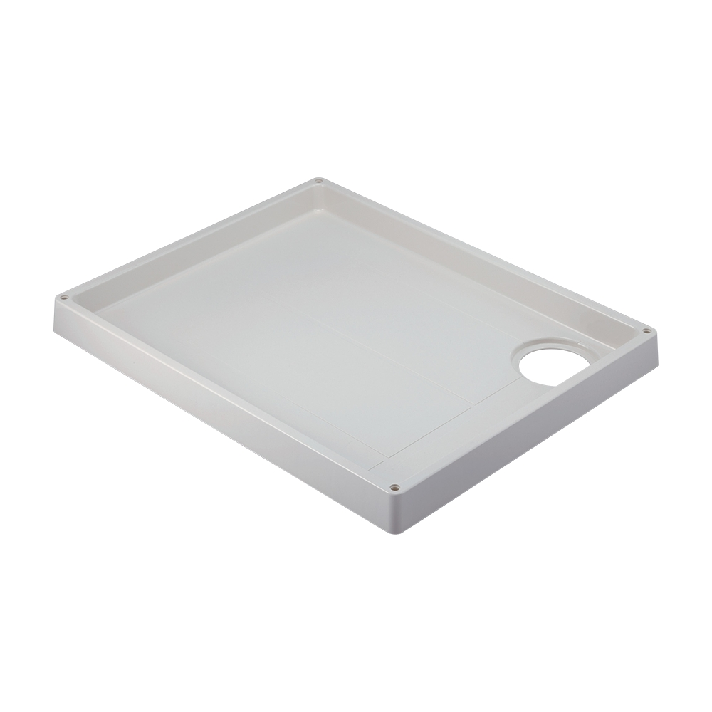 カクダイ【426-421-LW】洗濯機用防水パン ホワイト