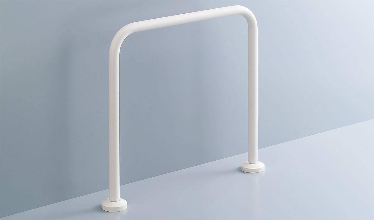 INAX/LIXIL【KF-131AE60J】和風便器用手すり 床固定式樹脂被覆タイプ