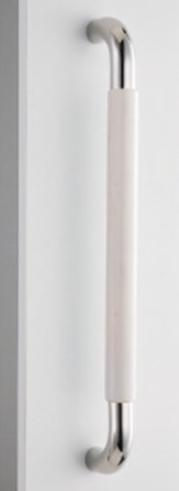 ★★SHB201 W 450 ####u.神栄ホームクリエイト【SHB201-W-450】ドアハンドル Smooth Handle スムースハンドル ホワイト スムース 内外1セット2本組