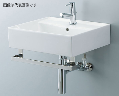<title>YL D555YTB INAX LIXIL サティス洗面器 YL-D555YTB メタルバーセット 単水栓 床給水 床排水 Sトラップ 買収 排水口カバーなし</title>
