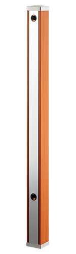 カクダイ【624-172】水栓柱(ブラウン木目)//70角