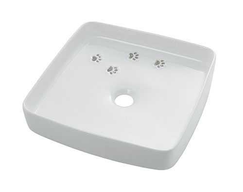 カクダイ【493-156】誰や!焼く前に踏んだん? 手洗器 Da Reya