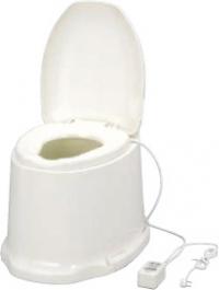 ###アロン化成 安寿【871-145】腰掛便座 簡易設置型洋式トイレ サニタリエースSD 据置式 暖房便座 補高#5