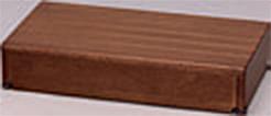###アロン化成 安寿【535-564】段差解消商品 木製玄関台 60W-30-1段 ブラウン