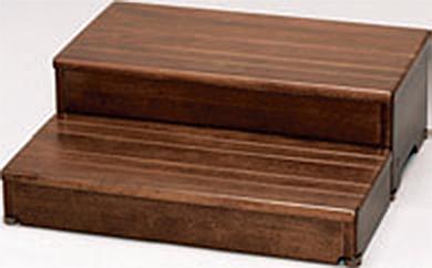 ###アロン化成 安寿【535-584】段差解消商品 木製玄関台 60W-30-2段 ブラウン