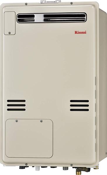 リンナイ ガス給湯暖房用熱源機【RUFH-A2400SAW2-6】オート 屋外壁掛・PS設置型 24号 2-6 床暖房6系統熱動弁内蔵