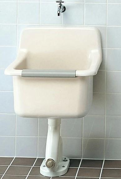 ###TOTO パブリック用流し【SK322】セット掃除用流し 床排水金具給水栓付 Sトラップセット