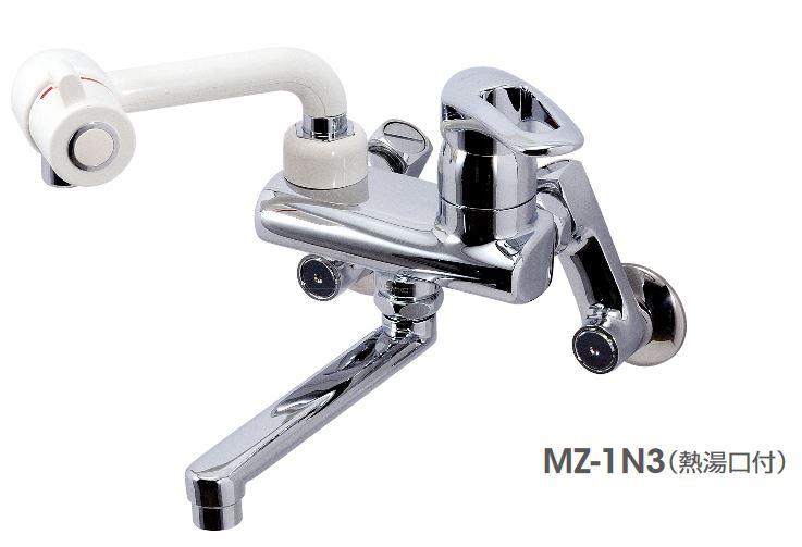 イトミック 水栓金具【MZ-1N3PE】節湯対応型 まぜまぜ 埋め込み配管型