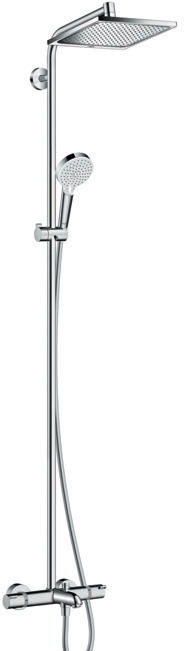 ハンスグローエ【27298000】クロメッタ E240 シャワーパイプ スパウト付