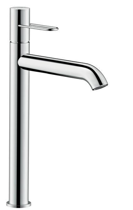 ハンスグローエ【38034000】アクサーウノ シングルレバー洗面混合水栓 250 ループハンドル(ポップアップ引棒無)