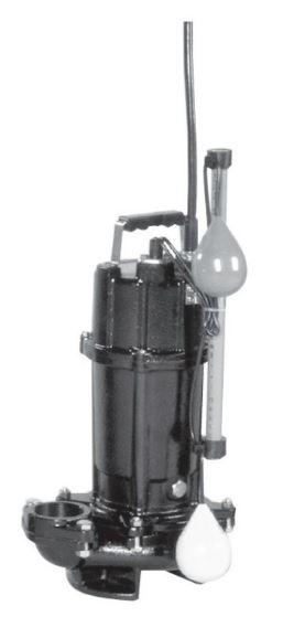 エバラ/荏原【50DVSA51.5】50Hz DVSA型 雑排水用セミボルテックス水中ポンプ 三相200V