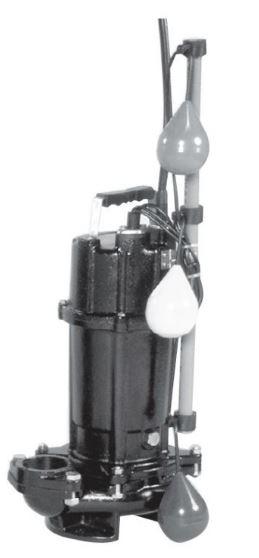 エバラ/荏原【40DVSJ5.25A】50Hz DVSJ型 雑排水用セミボルテックス水中ポンプ 三相200V