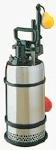 テラル 排水水中ポンプ【50SLA2-6.4S】60Hz 単相100V 汚水用 ステンレス製 SLA2型