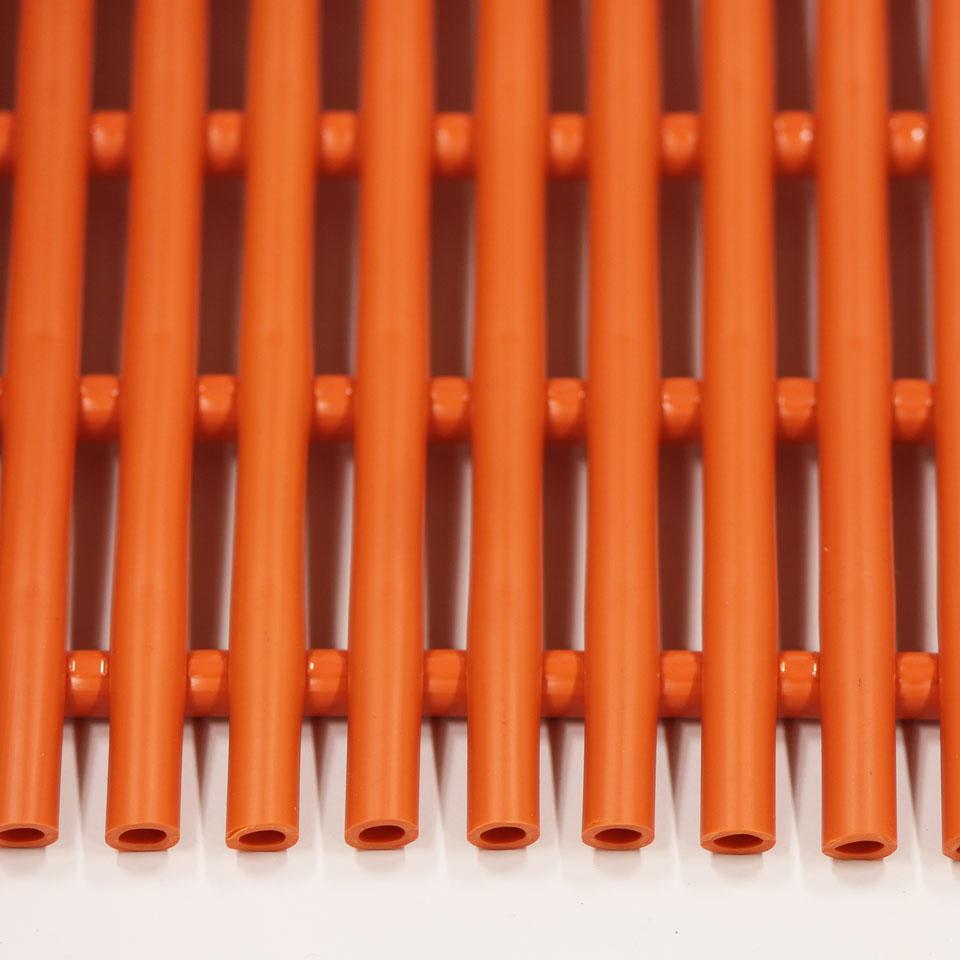 ####u.ミヅシマ工業【439-0202】セーフティマット ソフト オレンジ ソフトタイプ 910X6M