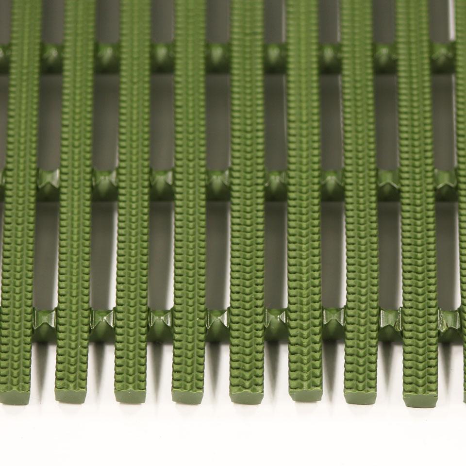 ####u.ミヅシマ工業【439-0211】セーフティマット ハード グリーン ハードタイプ 910X6M