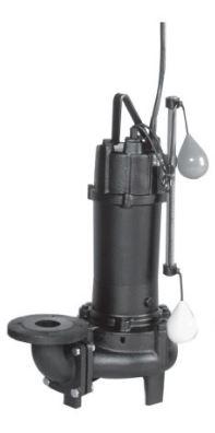 エバラ/荏原【50DVA5.75A】50Hz DVA型 汚物用ボルテックス水中ポンプ 三相200V