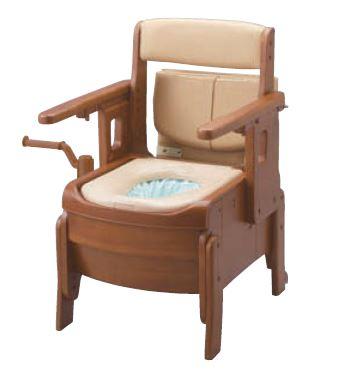 ###アロン化成 安寿【533-943】標準便座 はねあげタイプ 家具調トイレ セレクトR 自動ラップ 腰掛便座