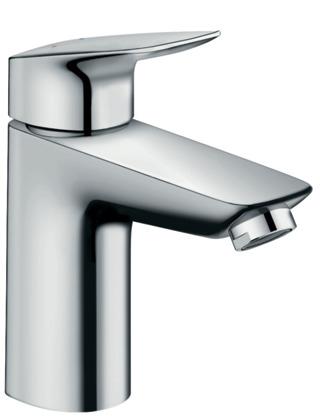 ハンスグローエ【71100000】ロギス シングルレバー洗面混合水栓 100
