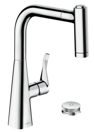 ハンスグローエ【73805000】M7120-H220セレクト2ホールシングルレバー引出式キッチンシャワー混合水栓220