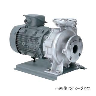川本 ステンレス製小型うず巻ポンプ 2極 60Hz【GES656CE7.5】三相200V 7.5kW GES-C形