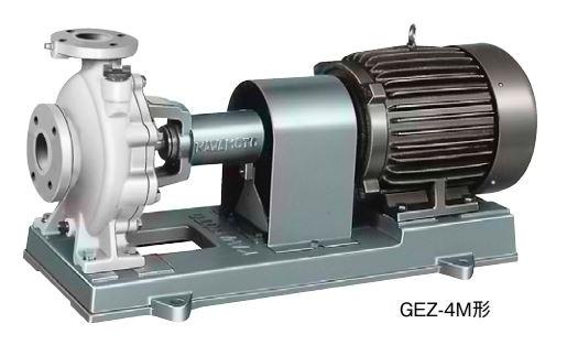 川本 渦巻ポンプ 60Hz【GEZ1506-4ME22】 三相200V 22kW GEZ-4M形 カワホープ 海水用ポンプ ナイロンコーティング品