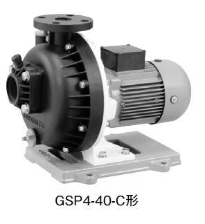 川本 自吸式プラスチックポンプ 60Hz【GSP4-506CE1.5】 三相200V 1.5kW GSP4形 カワホープ 海水用