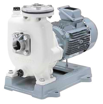 川本 自吸式海水用ポンプ 60Hz【GSZ2-406CE2.2】 三相200V 2.2kW GSZ2-C形 カワホープ ナイロンコーティング品