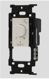 β神保電器 配線器具【JEC-BN-RLE5PW】ニューマイルドビー ライトコントロールスイッチ本体 (正位相制御)