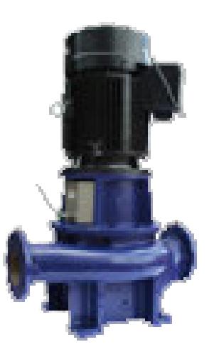 テラル ラインポンプ【LPE150F-575-e】50Hz 三相200V 鋳鉄製 2極/4極 LPE型