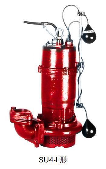 川本 汚水水中ポンプ 2極 60Hz【SU4-506-1.5L】フランジタイプ 三相200V 1.5kW 自動型 SU4形
