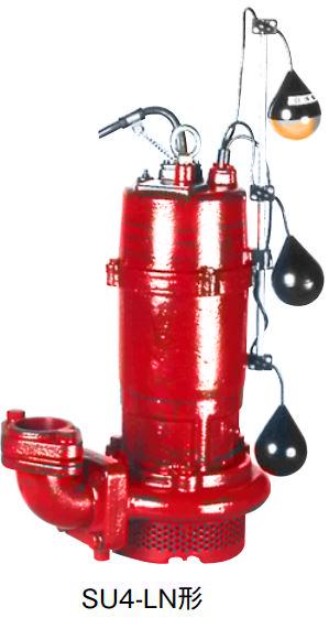 川本 汚水水中ポンプ 2極 60Hz【SU4-506-3.7LN】フランジタイプ 三相200V 3.7kW 自動交互内蔵型 SU4形